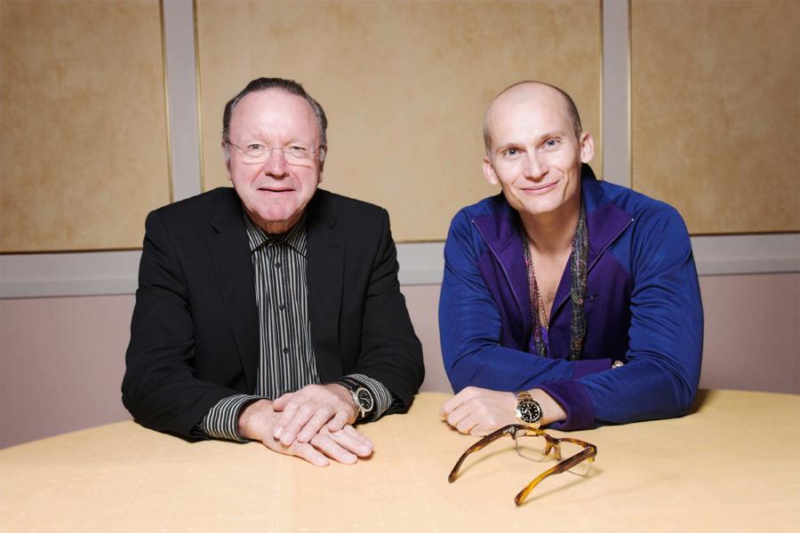 Steen Hildebrandt og Christian Stadil