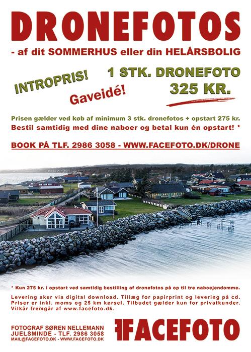 Dronefotografering - sommerhus eller helårsbolig